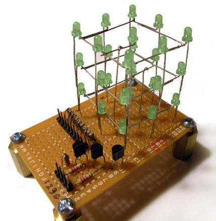 chân đèn led mạch Arduino