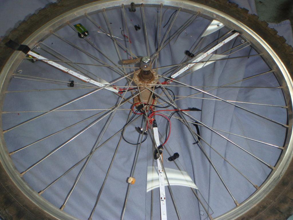 bánh xe hiệu ứng đèn led