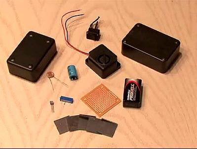 tự tạo tia laser chống trộm