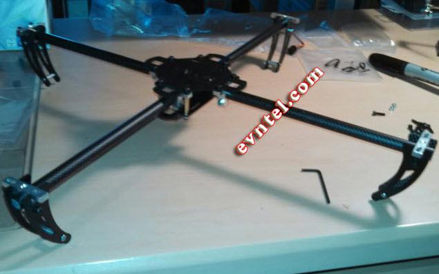 tự chế máy bay trực thăng điều khiển