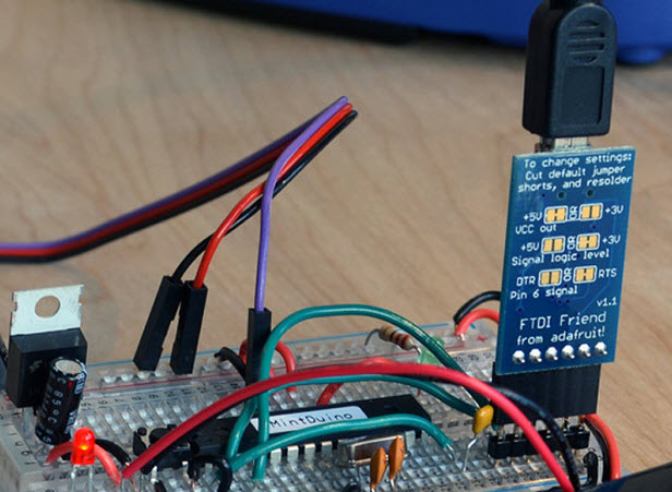 kiem tra bo cam bien mach Arduino
