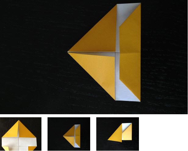 vong hoa origami