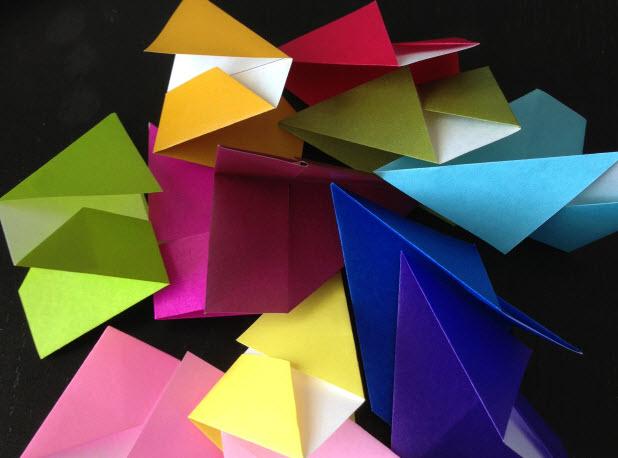 cac manh ghep vong hoa origami