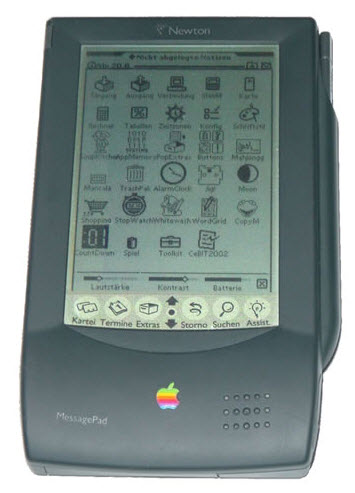may tinh bang Apple Newton