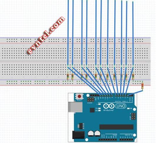 tự làm bàn phím midi mạch arduino