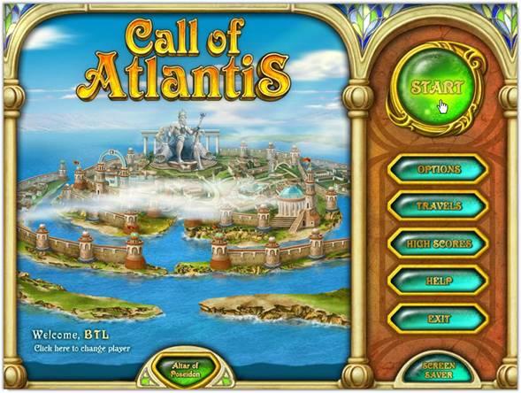 game Call Of Atlantis