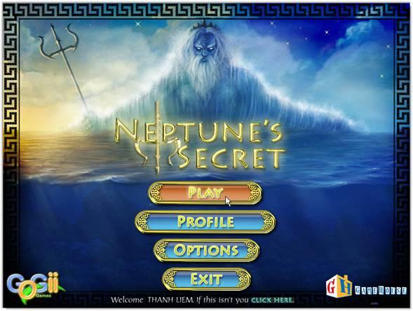 Game Neptune's Secret