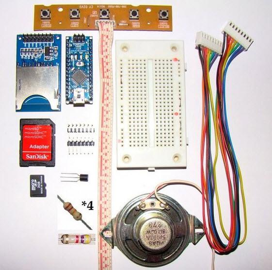 định dạng wav sử dụng mạch Arduino