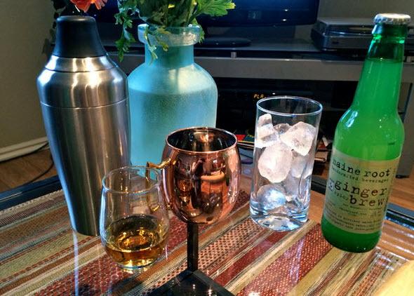 nguyên vật liệu làm cocktail