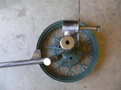 phần thân máy phát điện gió