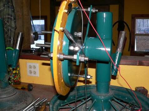 lắp ráp máy phát điện gió