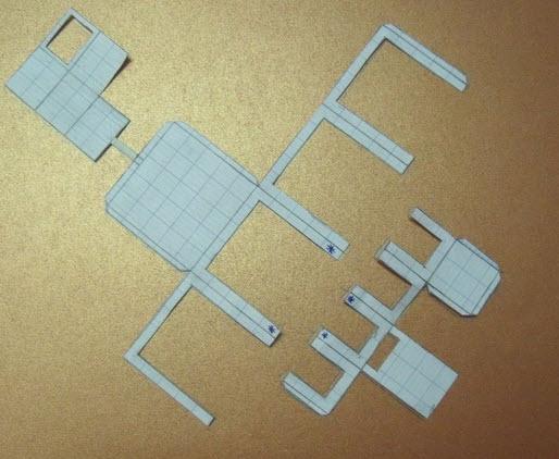 tạo mẫu giấy cắt
