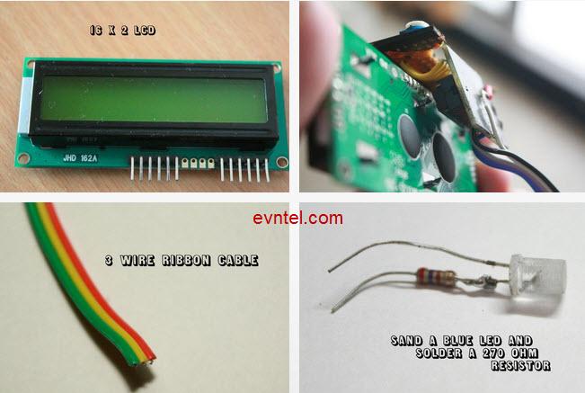 Tự làm máy đo tốc độ quay bằng cảm biến quang