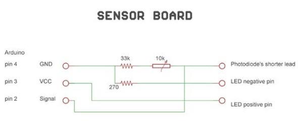 3-pin LCD