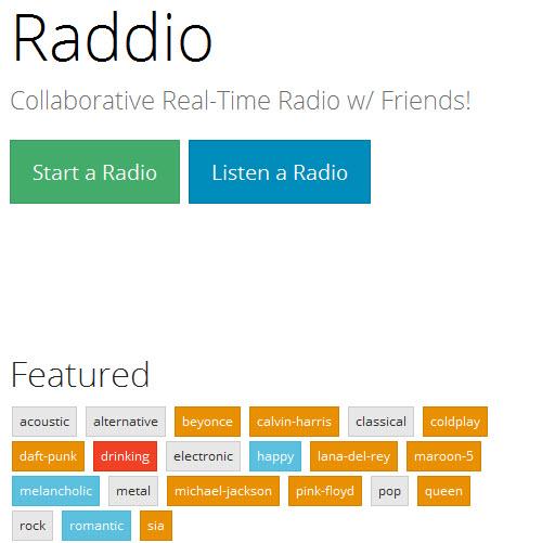 dịch vụ radio