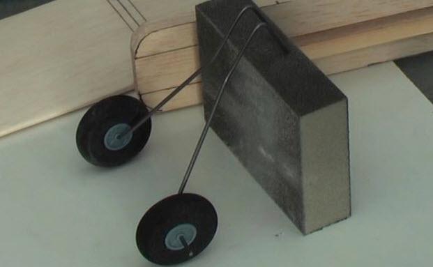 cánh và động cơ máy bay mô hình