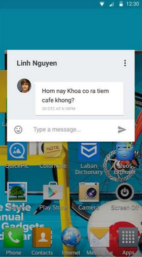 Ứng dụng chặn tin nhắn rác theo yêu cầu cho Android