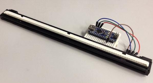 Kết nối cảm biến máy scan với mạch Arduino