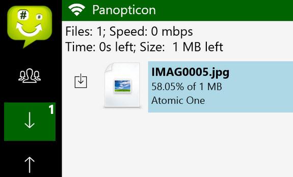 Chuyển dữ liệu với Wifi Direct trong Windows 8.1