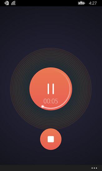 Lắc điện thoại để ghi âm trên Windows Phone