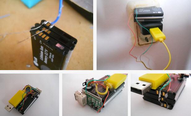 Làm thỏi pin lưu trữ điện