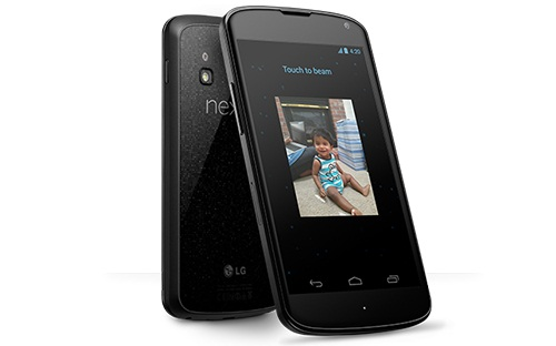 Ứng dụng Android Beam