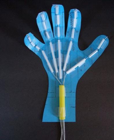 tự chế bàn tay robot