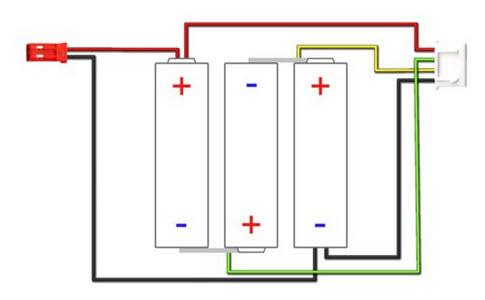 kết nối cân bằng 4 chân JST-XH