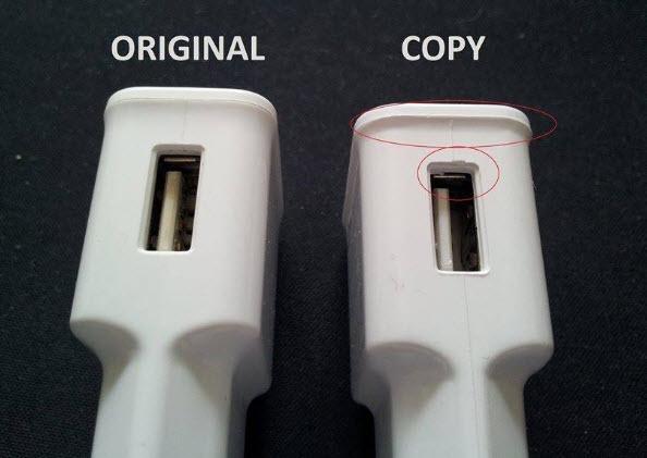 khe cắm USB bằng đồng