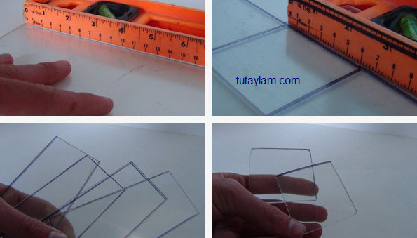 Cắt và dán khung hộp loa
