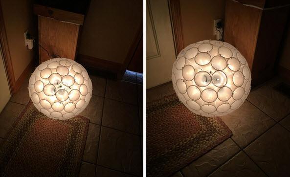 quả cầu đèn chớp