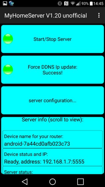 kết nối server android