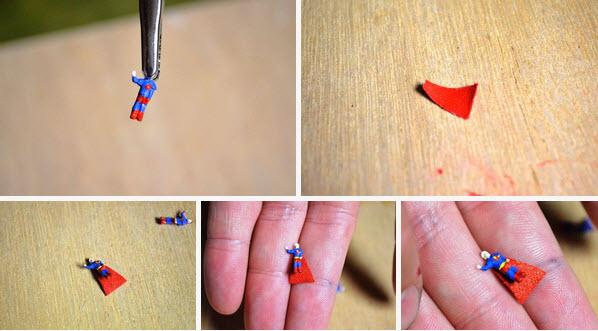 mô hình vật thể bay tự chế