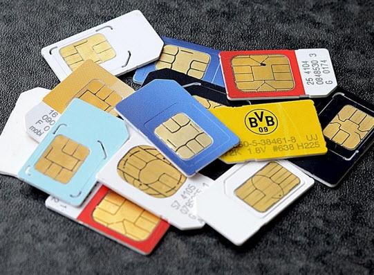 thẻ sim và esim