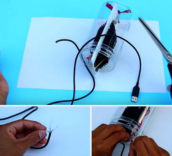 Thêm vỏ bảo vệ và dây nguồn cho máy điều hòa