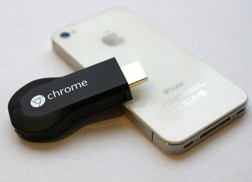 cài đặt Chromecast trên thiết bị iOS