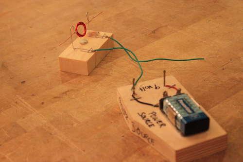 động cơ điện từ đơn giản