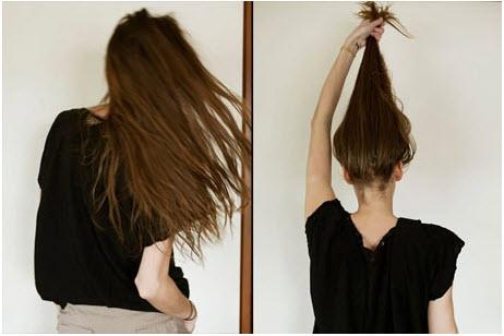 tóc búi rối kiểu Hàn Quốc
