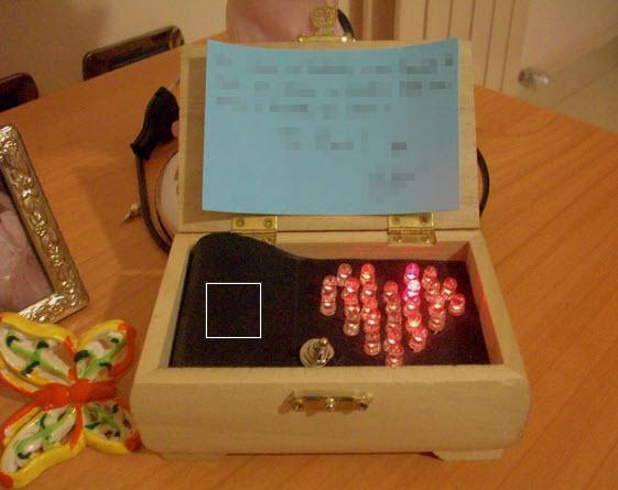 món quà lãng mạn đèn LED