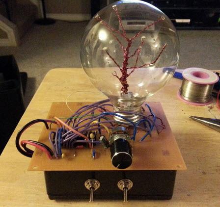 hiệu ứng đèn LED lóe sáng