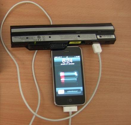 Làm sạc dự phòng cho iPhone