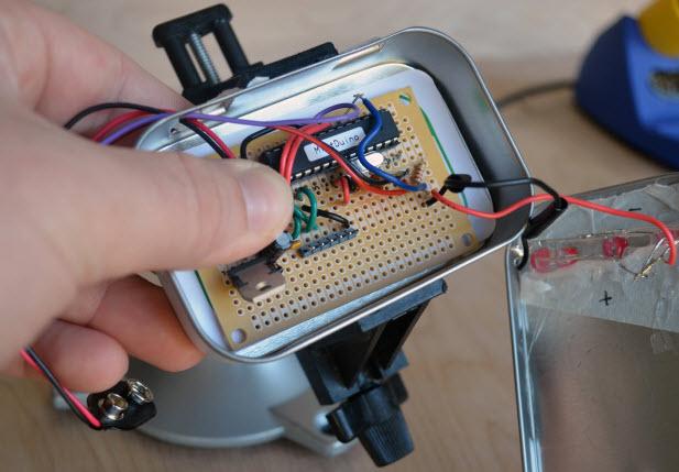 máy đo nhịp tim bằng bộ cảm biến