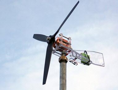 làm máy phát điện gió nhỏ gọn