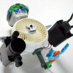 mô hình robot từ chiếc quạt gió cũ