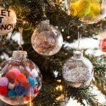 quả cầu rực rỡ sắc màu trang trí cho mùa Giáng sinh