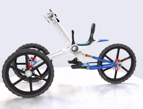 ý tưởng thiết kế xe đạp
