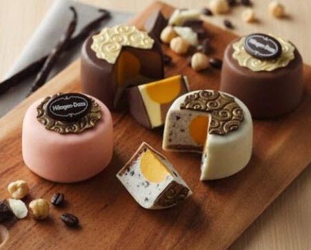 làm bánh trung thu nhân kem lạnh kiểu Nhật Bản
