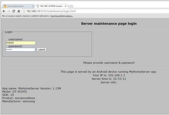 thiết bị Android thành máy chủ Home Server