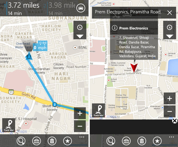 Gmail, Google Maps và Hangouts trên Windows Phone 8.1