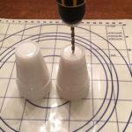 làm quả cầu đèn chớp trang trí Tết Bính Thân